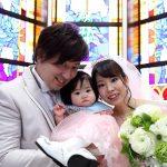 """家族3人""""三人四脚""""Wedding★"""